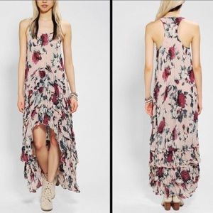 KNT by Kova and T 💕 Floral Ruffle High Low Gown 4